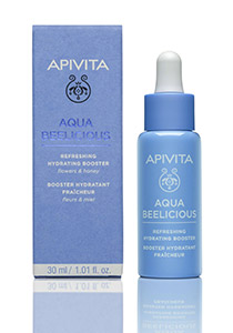 Apivita Booster Αναζωογόνησης και Ενυδάτωσης: Με λουλούδια και μέλι- 98% συστατικά φυσικής προέλευσης