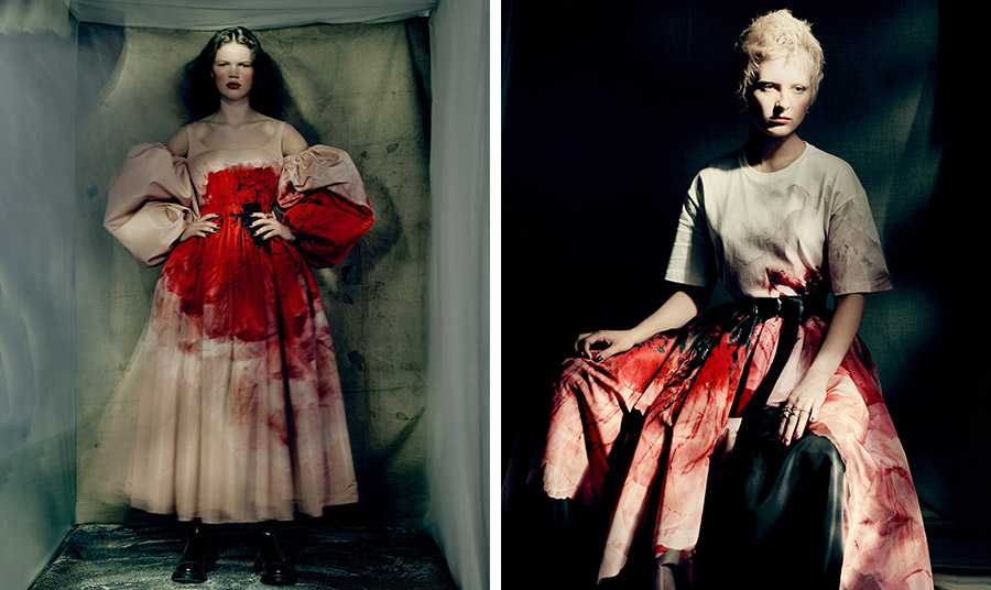 Alexander McQueen: Η φθινοπωρινή συλλογή είναι ένα μάθημα γοτθικού ρομαντισμού