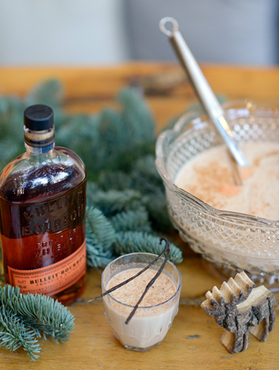 Bulleit Coco Milk Punch Hot