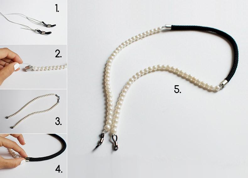 Κατασκευή: Λουράκι γυαλιών με πέρλες