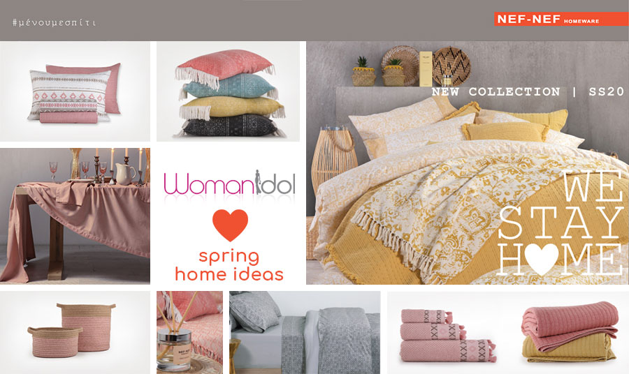 Womanidol loves spring home ideas!