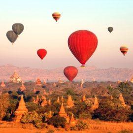 Bagan, Βιρμανία: Ατενίζοντας από ψηλά τις 4000 παγόδες και ναούς