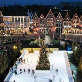 Μια υπέροχη γωνιά της Ευρώπης, η βελγική πόλη Μπρυζ δημιουργεί κάθε χρόνο ένα χριστουγεννιάτικο παραμύθι για να περιηγηθείτε?