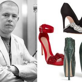Το μυθικό αγόρι της μόδας, ο Alexander McQueen έδωσε την υπογραφή του σε ένα brand πολυτελείας που ακόμα κουβαλάει την ροκ αύρα τού δημιουργού του. Τα εκκεντρικά σχέδια των παπουτσιών του αγαπήθηκαν όσο λίγα στη διεθνή αγορά