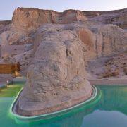 Συναρπαστικό τοπίο στην πισίνα του ξενοδοχείου
