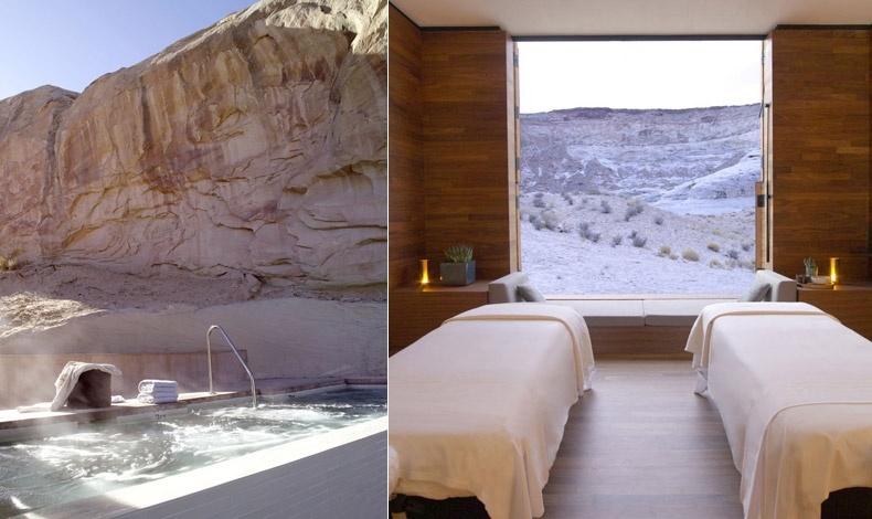 Τζακούζι ή spa με θέα τους εκπληκτικούς σχηματισμούς των βράχων της ερήμου, με ηλικία τουλάχιστον 8 εκατομμύρια χρόνια!