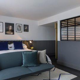 Μοντέρνα διακόσμηση στα δωμάτια και εκπληκτικά μπάνια χαρακτηρίζουν το Kimpton De Witt