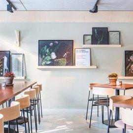 Όλος ο μοντέρνος κόσμος του Άμστερνταμ δεν χάνει την ευκαιρία για ένα πρωινό ή μία υπέροχη σαλάτα στο Sla που διακρίνεται για τα φρέσκα υλικά και το εκπληκτικό ντηζάιν του