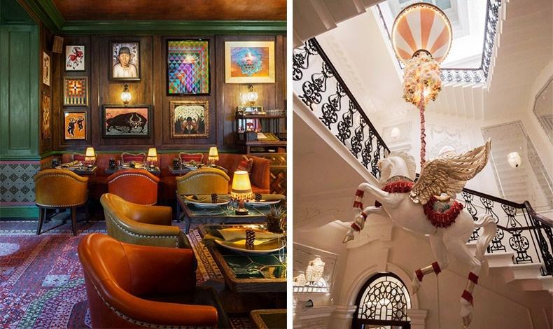 Τέχνη, στιλ και πολυτέλεια χαρακτηρίζουν κάθε χώρο // Εντυπωσιακές ακόμη και οι σκάλες!