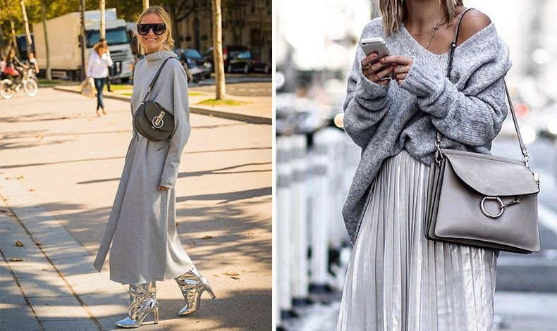 Μεταλλικές λάμψεις από το πρωί έως το βράδυ! Γυαλιστερές μπότες ή μία γυαλιστερή φούστα με ένα πουλόβερ προσθέτουν στην εμφάνισή σας