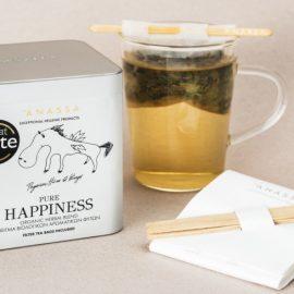 Ηapiness, ένα μείγμα για τόνωση του οργανισμού που θα σας χαρίσει στιγμές... ευτυχίας!