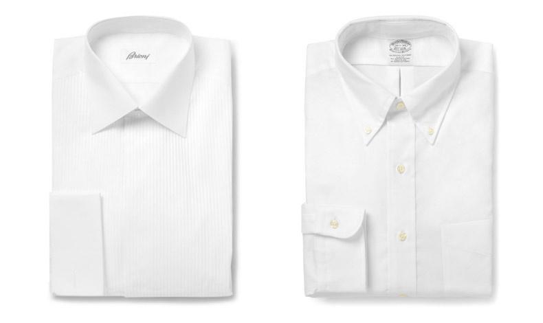 Βαμβακερό πουκάμισο με πιέτες, Brioni // Πουκάμισο Oxford, Brooks Brothers