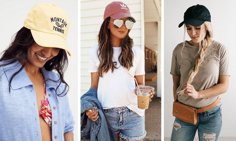 Τα καπέλα του μπέιζμπολ για την παραλία ή την πόλη με χρώμα ή κλασικά λευκά ή μαύρα