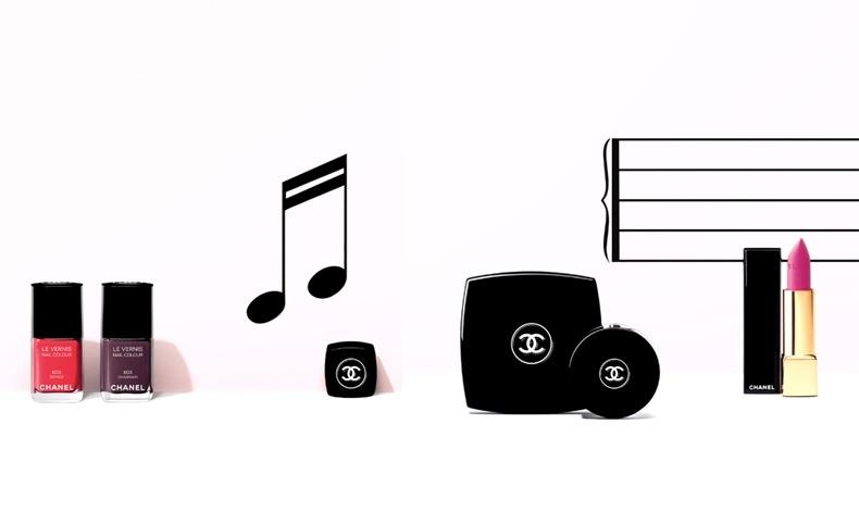 Η μελωδία των χρωμάτων συνεχίζεται με την Collection Notes de Printemps, Chanel