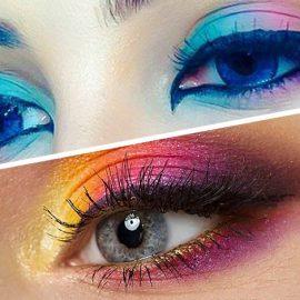 Αν σας αρέσουν τα χρώματα και έχετε μία σχετική δεξιοτεχνία στο μακιγιάζ, τότε οι διαφόρων χρωμάτων σκιές ματιών, είναι η τάση της εποχής θα σας κάνει πολύ χαρούμενη!