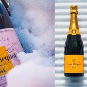 H Veuve Clicquot είναι μία εξαιρετική επιλογή, δοκιμάστε τη ροζέ ή την brut, ανάλογα με το γούστο στη γεύση σας!
