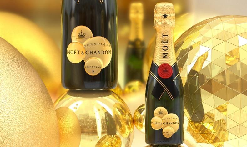 Moët & Chandon, ιδανική για τα βράδια των γιορτών!