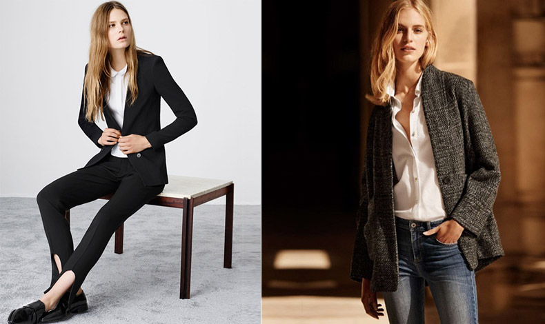 Λευκό πουκάμισο, το απαραίτητο συμπλήρωμα για κάθε εργαζόμενο κορίτσι που σέβεται τον εαυτό του, H&M // Ένα μαύρο μπλέιζερ είναι το απόλυτο must για το εργασιακό περιβάλλον, Zara