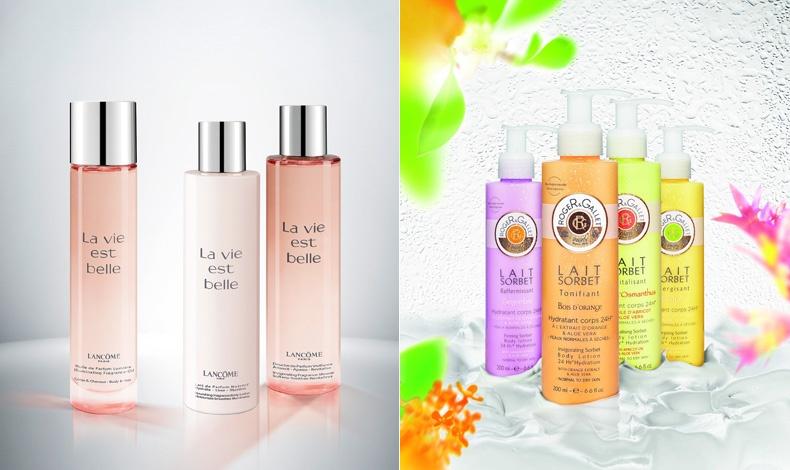 Σειρά μπάνιου από το υπέροχο άρωμα La Vie est Belle, Lancome // Με έμπνευση από τη γαλλική ζαχαροπλαστική, τα νέα γαλακτώματα σώματος με φυτικά συστατικά Lait Sorbet, Roger & Gallet