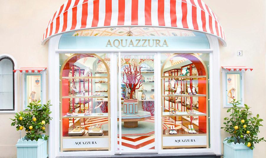 Η νέα μπουτίκ Aquazzura στο Κάπρι με άρωμα Μεσογείου!