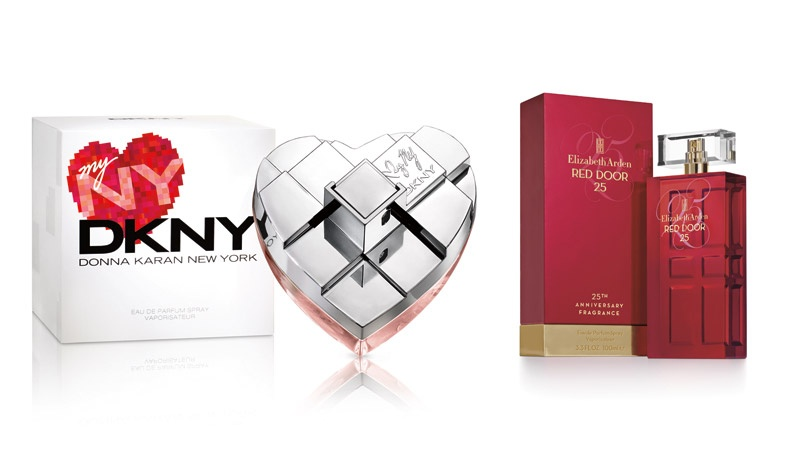 My NY, DKNY // Red Door 25, Elizabeth Arden