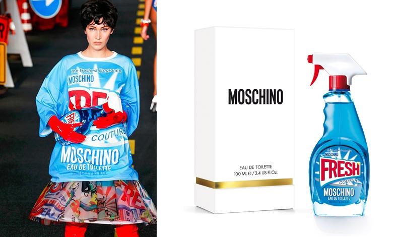 Ειρωνία και διασκεδαστική αίσθηση πολυτέλειας για το μπουκάλι του νέου αρώματος Fresh Couture, Moschino που σπάει τα δεδομένα!