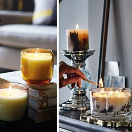 Ανάψτε αρωματικά κεριά! Υπάρχει πολύ μεγάλη ποικιλία σε χρώματα και αρώματα! Το ίδιο αποτελεσματικά είναι και τα στικ που έχουμε βουτήξει σε αιθέρια έλαια