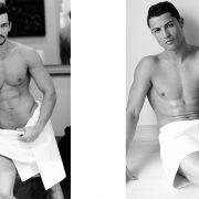 Το διάσημο μοντέλο Ντέιβιντ Γκάντι // Ο σταρ ποδοσφαιριστής της Ρεάλ, Κριστιάνο Ρονάλντο