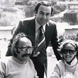 Ο Αντώνης Δημητρακάκης με τον Αλέξανδρο Λυκουρέζο και τη Ζωή Λάσκαρη