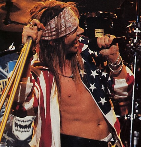 Axl Rose for ever!
