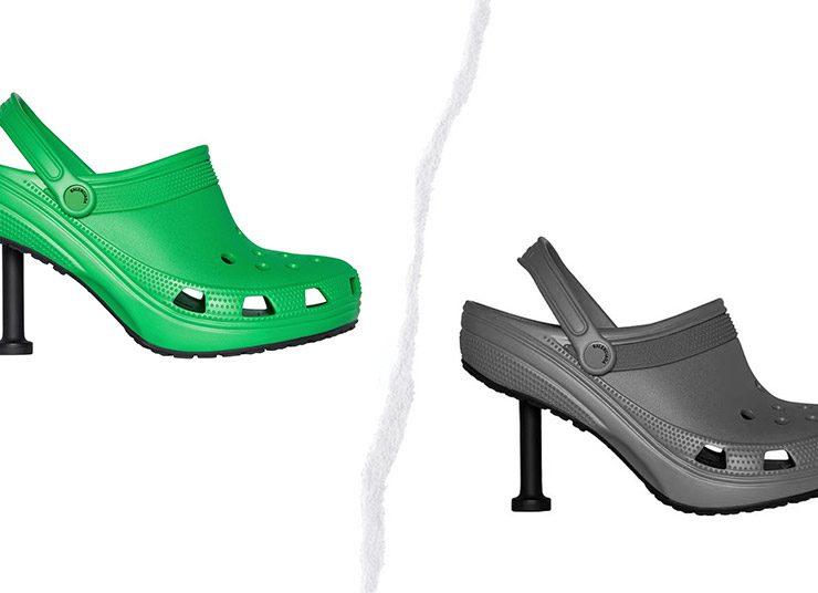 O Balenciaga και η Crocs λανσάρουν τσόκαρα-στιλέτο!