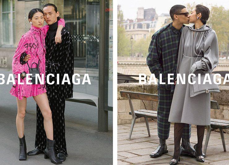 Ο οίκος Balenciaga γιορτάζει τον έρωτα στη νέα του καμπάνια