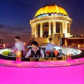 Tο Sky Bar at Sirocco στην Ταϋλάνδη είναι το ψηλότερο ανοιχτό μπαρ του κόσμου