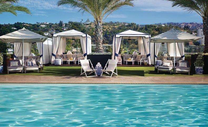 Η ταράτσα του ξενοδοχείου The London στο Λος Άντζελες αποτελεί ιδανικό προορισμό?