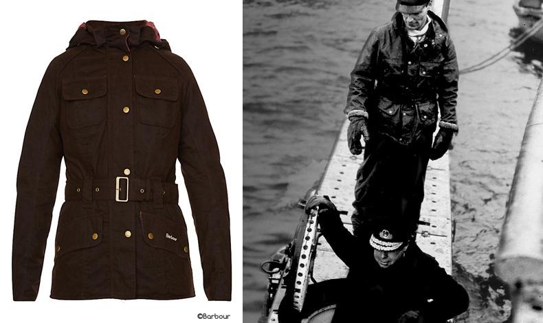 Παραλλαγή στο κλασικό σχέδιο της Barbour // Ο Β' Παγκόσμιος Πόλεμος βρήκε το περίφημο κερωμένο τζάκετ σε ρόλο στολής στα βρετανικά υποβρύχια
