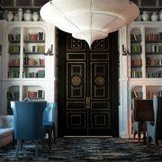 Η «Βιβλιοθήκη» ήταν ένα από τα δωμάτια, όπου συναντώνταν τα μέλη της πάλαι ποτέ συντεχνίας βαμβακιού