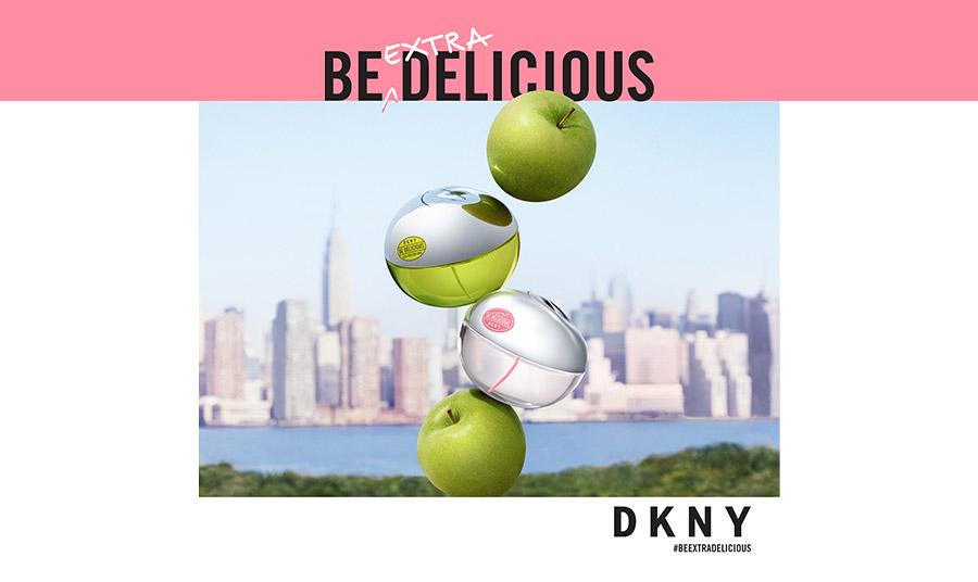 Be extra delicious DKNY