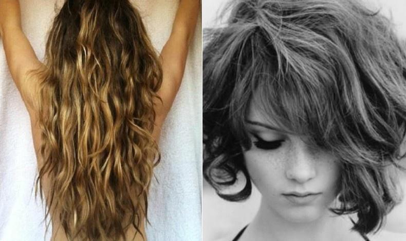 Φτιάξτε πλεξούδες και αφήστε να στεγνώσουν μόνα τους όλη νύχτα ή πάλι στριφογυρίστε τα βρεγμένα μαλλιά σε μερικές τούφες, σαν να κάνετε κουλουράκια και στερεώστε τις άκρες τους με τσιμπιδάκια