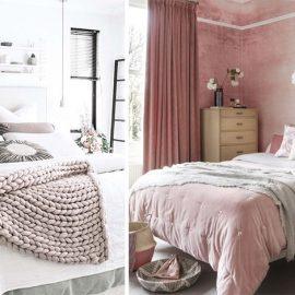 Μερικά μαξιλάρια σε διάφορα χρώματα, σχήματα και υφές υφασμάτων δίνουν αυτόματα νέα όψη στο υπνοδωμάτιο