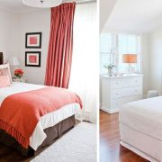 Το φωτεινό πορτοκαλί συνδυάζεται με τα λευκά σεντόνια μας και λευκούς τοίχους, ενώ πινελιές από κίτρινο, γκρι, καφέ ή εμπριμέ ταιριάζουν επίσης