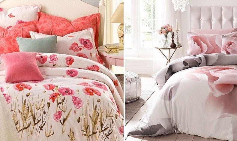 Ριχτάρια ή σκεπάσματα με φλοράλ μοτίβα που συνδυάζονται με τα χρώματα των τοίχων ή των επίπλων δίνουν αυτόματα μία «ανοιξιάτικη» ή θηλυκή νότα, ξυπνώντας και το πιο αδιάφορο δωμάτιο