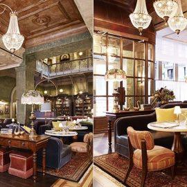 Το ξενοδοχείο φιλοξενεί δύο από τους κορυφαίους εστιάτορες της Νέας Υόρκης κάτω από την ίδια στέγη. Η μπρασερί Augustine του Keith McNally είναι απλά εξαιρετική και το Fowler and Wells του σεφ Tom Colicchio είναι εξίσου κορυφαίο