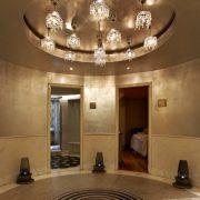 Άποψη του χώρου με τα δωμάτια θεραπειών στο GB spa