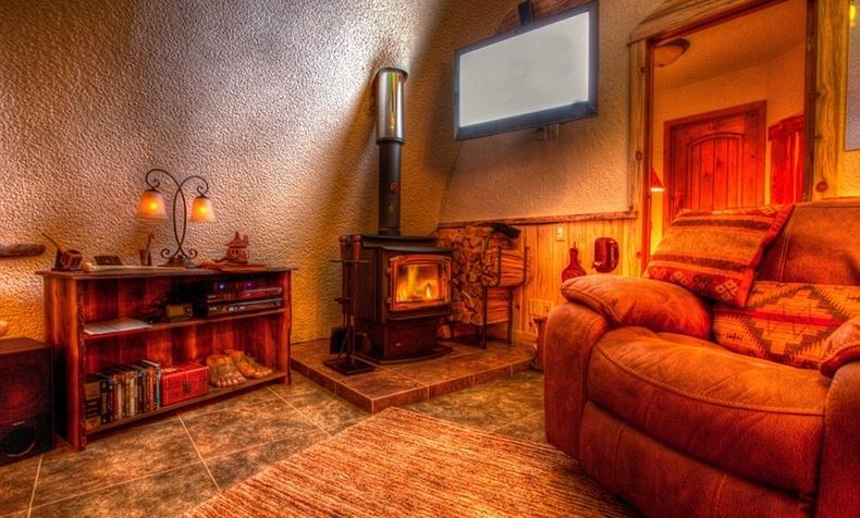 Δωμάτιο στο The Hobbit House
