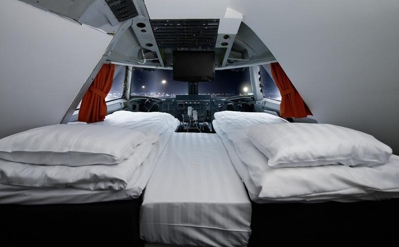Κοιμηθείτε στη σουίτα-πιλοτήριο