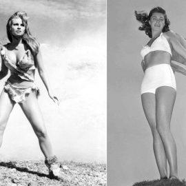 H Raquel Welch στην ταινία του 1966 «Ένα Εκατομμύριο Χρόνια π.Χ.» // H πρωταθλήτρια κολύμβισης και σταρ του Χόλιγουντ Esther Williams