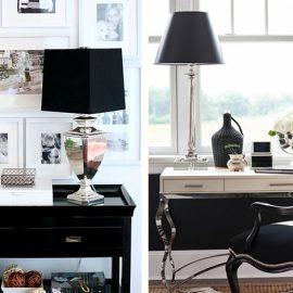Η χρήση επίπλων μαύρου χρώματος προσθέτει βάθος, δύναμη και ορίζει τον κάθε χώρο