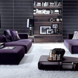 Ο συνδυασμός του μαύρου με το μοβ είναι μία μοντέρνα επιλογή που δεν θα βαρεθείτε? ποτέ! Δίνει βαρύτητα και ενδιαφέρον αποτέλεσμα
