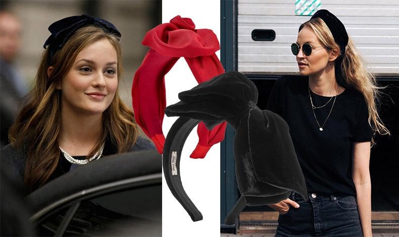 Το βελούδο είναι μόδα όχι μόνο στα ρούχα αλλά και στα αξεσουάρ για τα μαλλιά. Φορέστε το για βραδινή εμφάνιση αλλά και με το τζιν σας! Κόκκινο βελούδο με λουλούδι, Jeniffer Behr // Μαύρος βελούδινος φιόγκος, Miu Miu