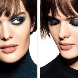 Αποχρώσεις του μπλε σε όλο το βλέφαρο από τη Chanel